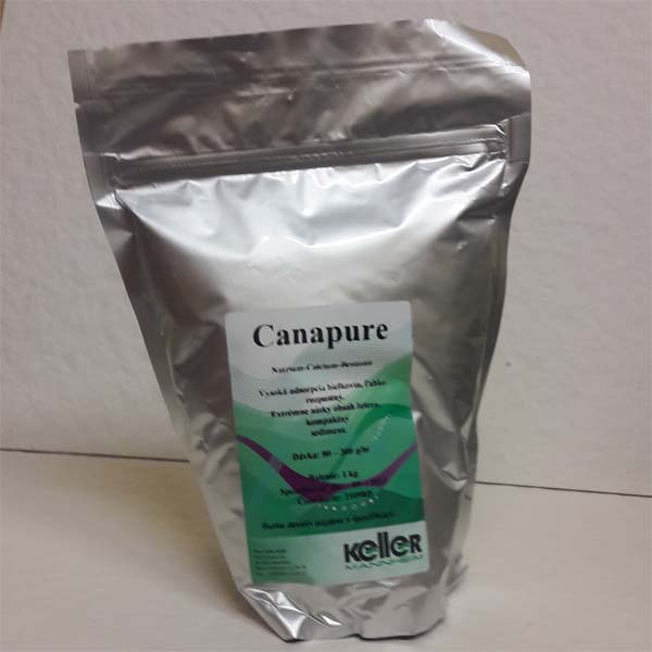 Canapur - bentonit 1 kg - Agrokomp