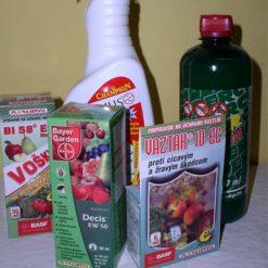 Insekticídy - proti nežiadúcemu hmyzu a živočíšnym škodcom