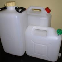 Kanistre, PET fľaše