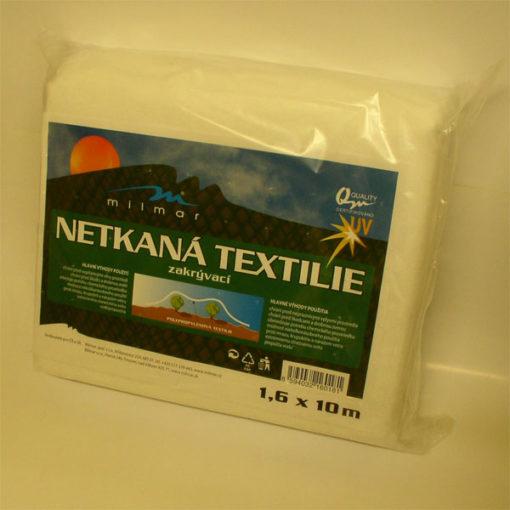 Netkaná textília biela