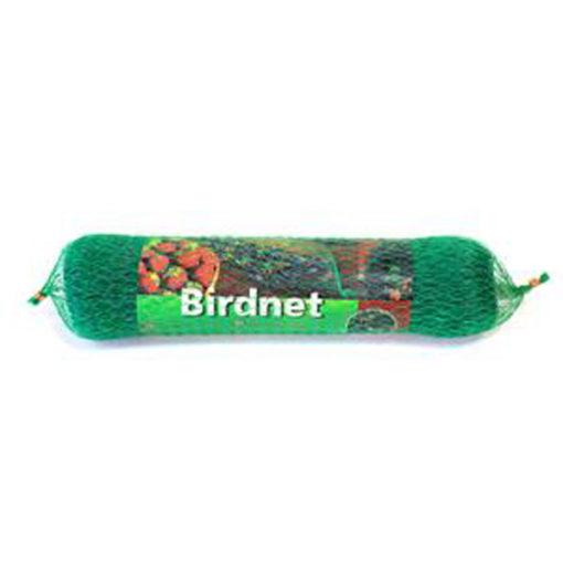 Sieť proti vtákom zelená š. 4m