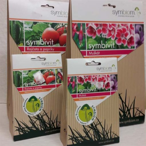 Symbivit mykorhiza pre paradajky, muškáty