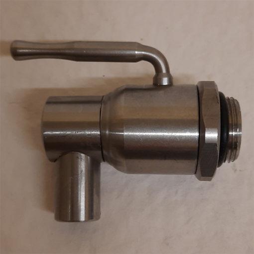 nerezový ventil na nádrž