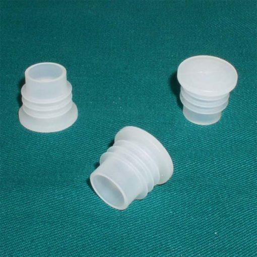 Plastové zátky biele (1ks)